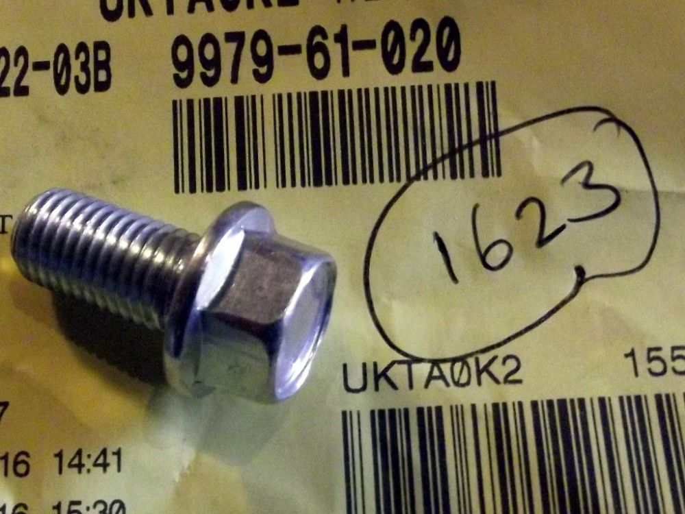 Bolt, diff spacer block & alternator strap, MX-5, genuine Mazda, 997961020
